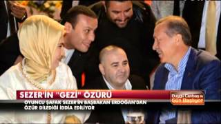 Sezer'in 'Gezi' özrü