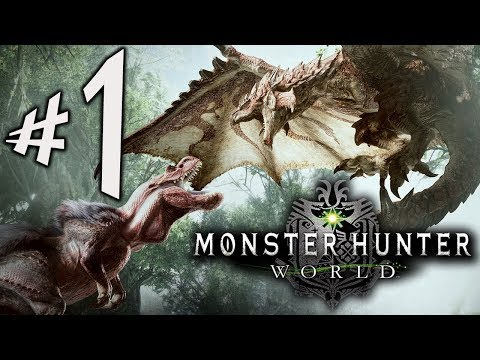 Monster Hunter World - Parte 1: Admirável Mundo Novo!!! [ PS4 Pro - Playthrough ]
