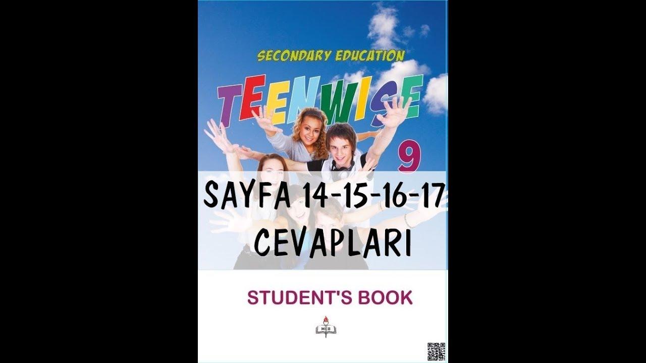 9 Sınıf Ingilizce Ders Kitabı Cevapları Sayfa 14 15 16 17 Meb 2018