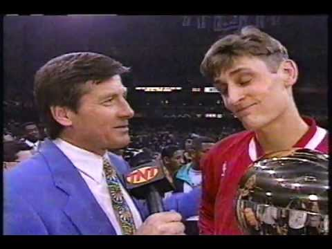 Brent Barry - 1996 NBA Slam Dunk Contest (Champion)