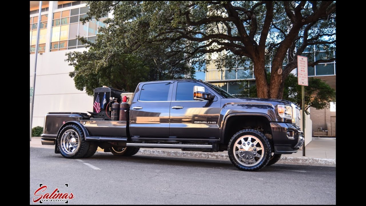 Welding Rig set up with custom bed on a 2015 GMC Denali on ...