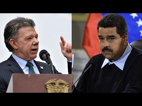 Juan Manuel Santos arremete contra Nicolás Maduro