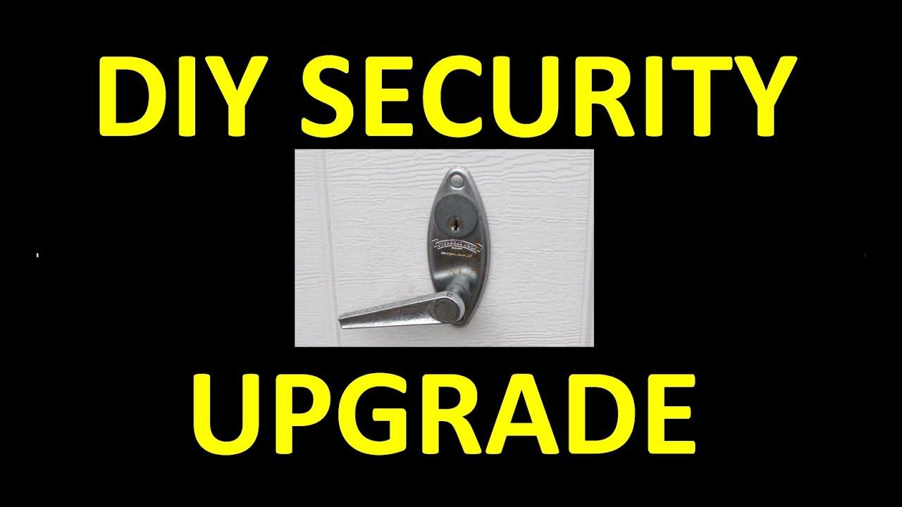 Diy Manual Garage Door Security Upgrade Cheap Trick Quick Fix