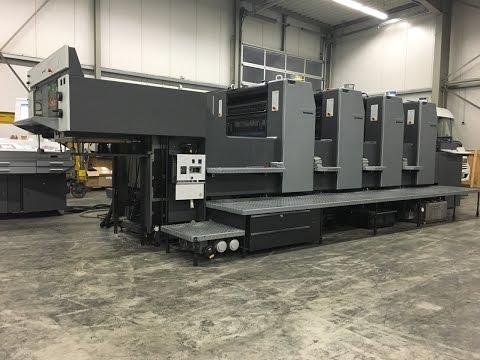 4-color Heidelberg Speedmaster SM 74-4 - print test job