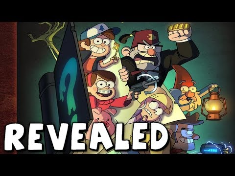 Gravity Falls: Graphic Novel REVEALED! - #PuzzlingPines