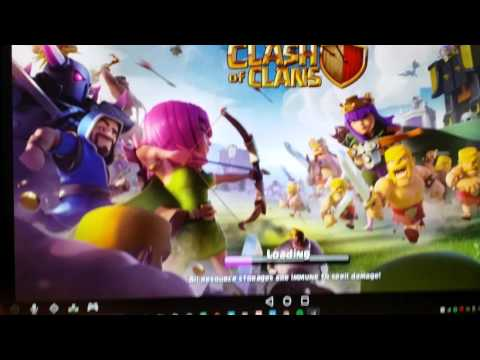 How To Zoom In/out. Clash Of Clans On Andyroid PC.