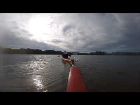 Morning paddling with Geoff, Trinity Inlet, Cairns, 18.02.18.