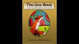 The Fox Book Coloring Book