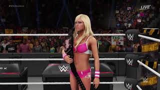 WWE 2K18 Mandy Rose vs Kelly Kelly   (Divas Championship Match)