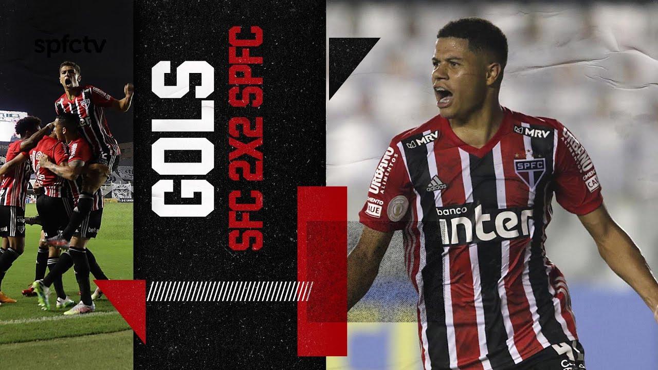 GOLS: SANTOS 2x2 SÃO PAULO | SPFCTV