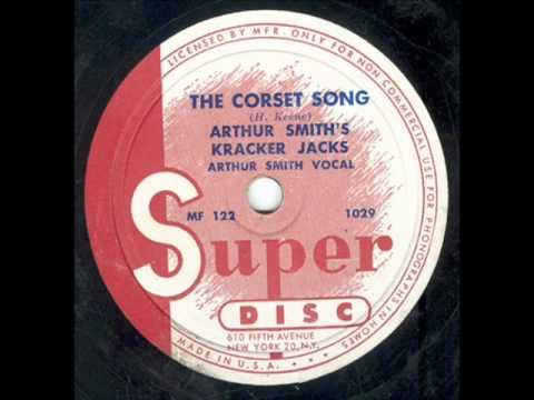 """The Corset Song"" Arthur Smith's Crackerjacks Super Disc 78rpm c. 1947"