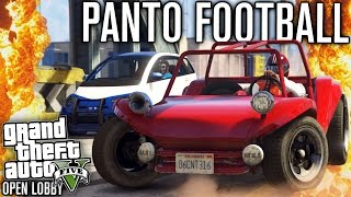 PANTO FOOTBALL?! (OPEN LOBBY) | GTA 5 (GTA Online) w/ The Nobeds