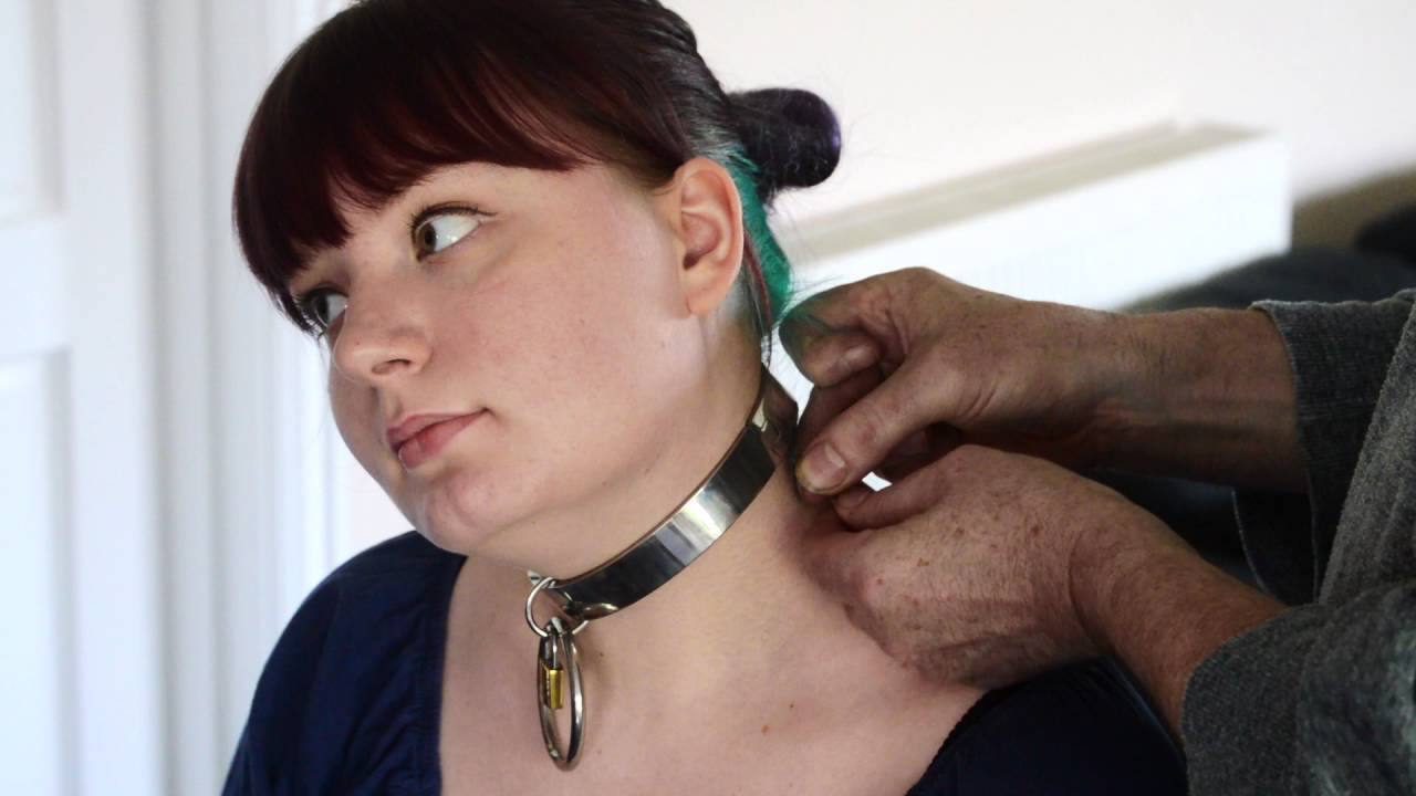 Slave on a leash at the disposal of her mistress - 2 2
