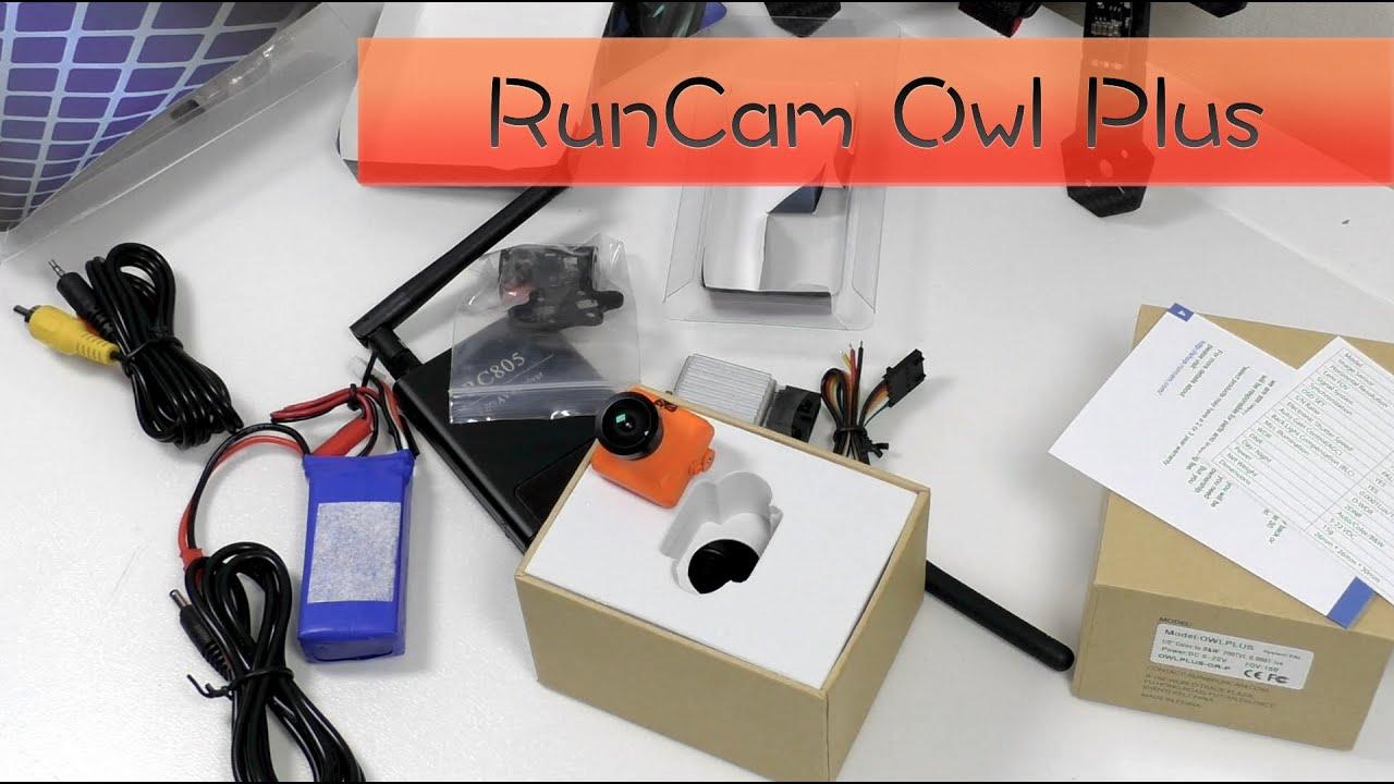 Курсовая камера runcam owl plus и приемник передатчик  Курсовая камера runcam owl plus и приемник передатчик Китайский Китай