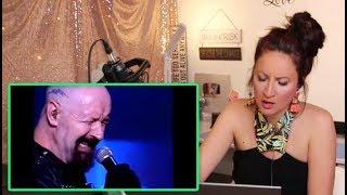 Vocal Coach REACTS to JUDAS PRIEST -Diamonds and Rust- (ROB HALFORD)