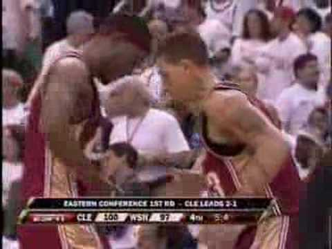 Delonte West Hits the Game Winner
