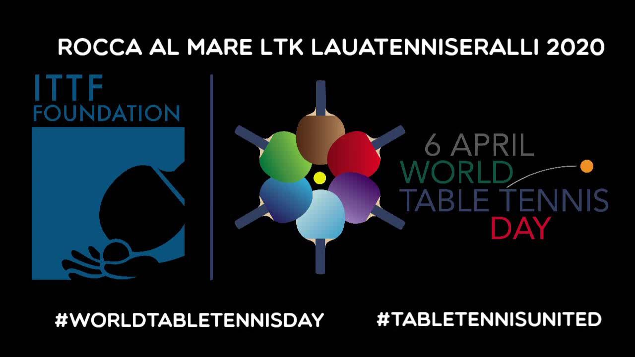 6.aprill - ülemaailmne lauatennisepäev !