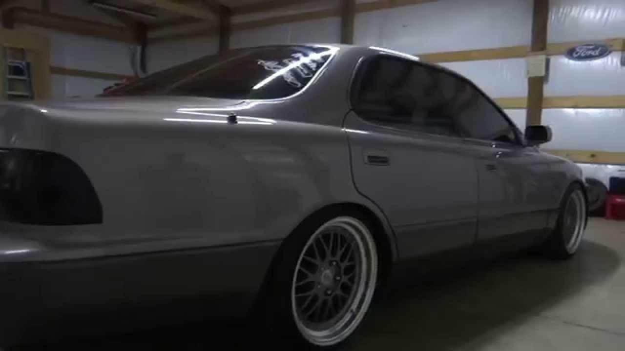 lexus es300: washed, waxed, wet - youtube