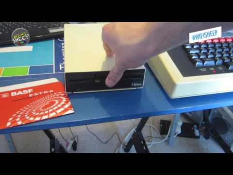 Stylus A 8bit BBC Micro word processor : Wi-Fi Sheep tech video