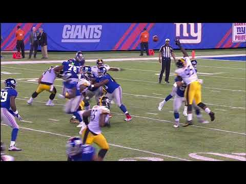 Arthur Moats Picks Off Geno Smith!!!! |Giants vs Steelers Preseason|