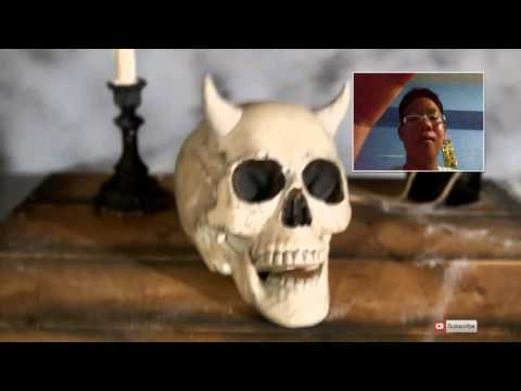Reaction To Jesseandmike:human Skull With Horns!
