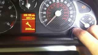 How Reset Service Light Peugeot