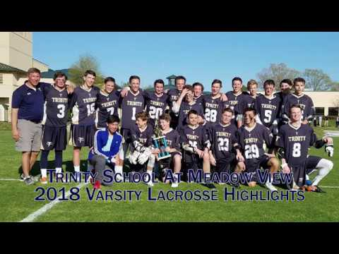 Trinity School At Meadow View 2018 Varsity Lacrosse Highlights