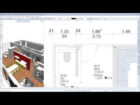 Allplan 2014 Quickstart (EN) - Dimension and Modify Components - CAD Tutorials