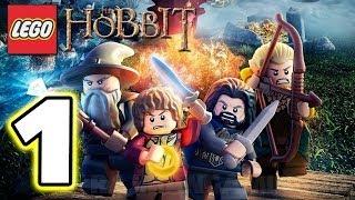 Lego The Hobbit Walkthrough Part 1 The Goblin King (demo) [1080p] True-hd Quality