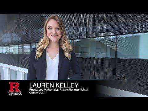 Lauren Kelley, Finance, Rutgers Business School