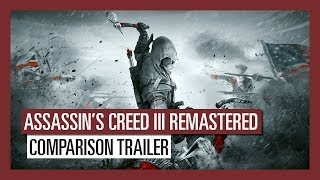 Assassin S Creed III Remastered Comparison Trailer