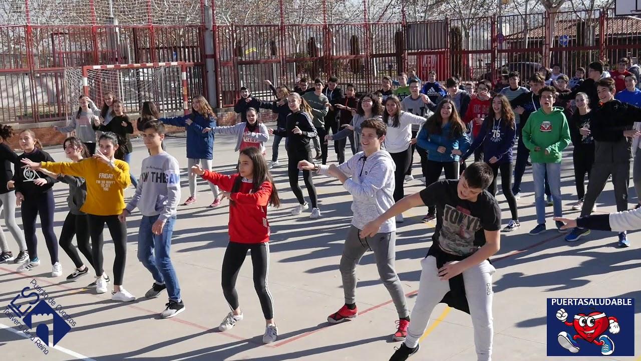 IES Puerta de Cuartos reta al CEIP Marcos Torniello - YouTube