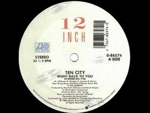 Ten City Right Back To You EXTENDED VERSION CLASSIC!
