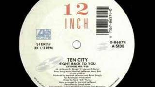 Ten City -Right Back To You (EXTENDED VERSION) CLASSIC!
