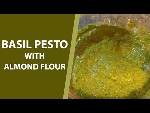 almond-flour-basil-pesto-|-homemade-basil-pasta-sauce-with-almond-flour-|
