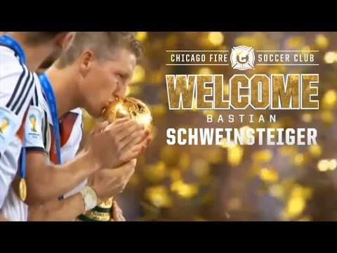 Chicago Fire Sign World Cup Champion Bastian Schweinsteiger