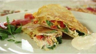 Chicken Quesadilla Recipe - Mexican Quesadilla Recipe