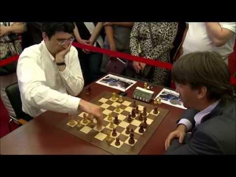 Vladimir Kramnik vs Alexander Morozevich - Blitz Chess Ending