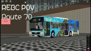 [4x] Roblox Horizon City Route 70 to Sea Garden POV Timelapse