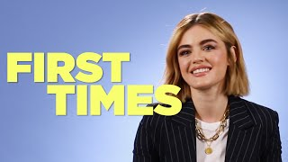 Lucy Hale Tells Us About Her First Times Video