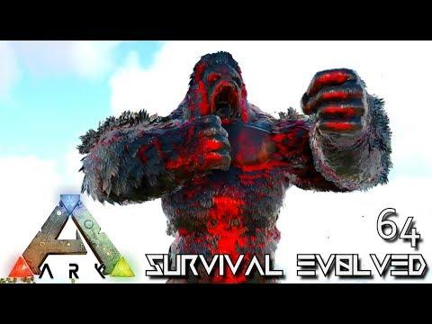 ARK: SURVIVAL EVOLVED - GUARDIAN BOSS & CHAOS MEGAPITHECUS TAME E64 !!! ( PRIMAL FEAR PYRIA )