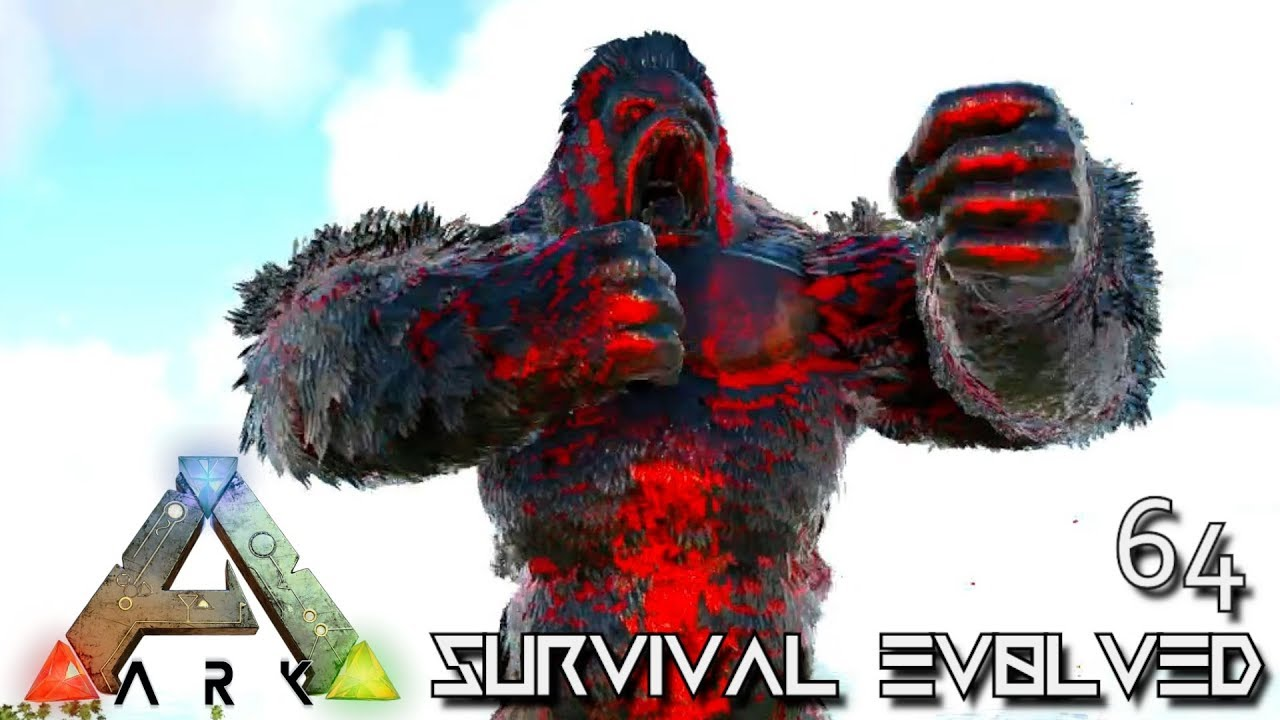 ARK: SURVIVAL EVOLVED - GUARDIAN BOSS & CHAOS MEGAPITHECUS
