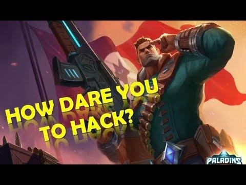 Paladins Aimbot, Wall Hack Viktor | How Dare You to Hack ?