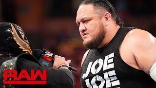Rey Mysterio relinquishes the U.S. Title to Samoa Joe: Raw, June 3, 2019