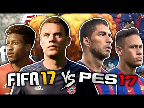 FIFA 17 vs. PES 2017 | The Ultimate Football Game?! | #FFO