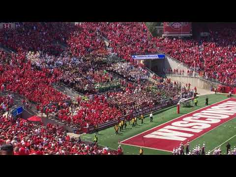 Band Day at UW Madison 2017