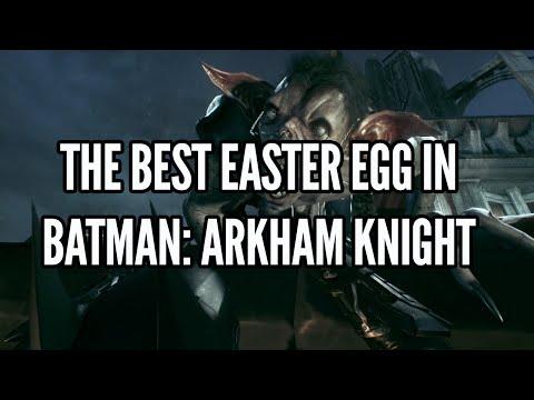 The Best Easter Egg In Batman Arkham Knight: Man-Bat Easter Egg