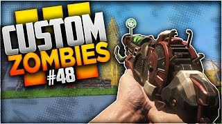 ON SERPILLE AVEC LES ARMES DE BLACK OPS 2 ! CUSTOM MAP ZOMBIES #48
