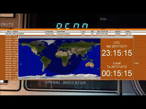 Vatican Radio, 2017 December11, 23:00 UTC ,9600 kHz