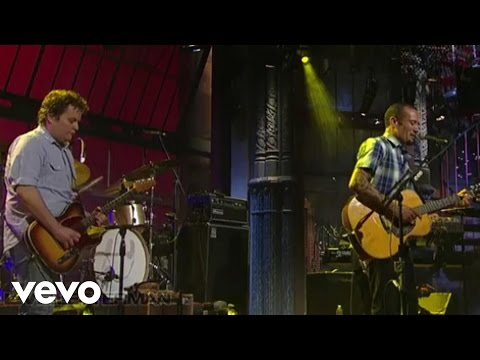 Ben Harper - Diamonds On The Inside (Live on Letterman)